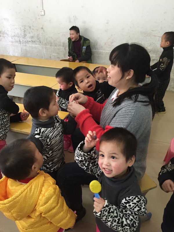 Classroom Orphanage in China