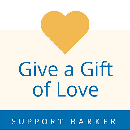 Give a Gift to Barker