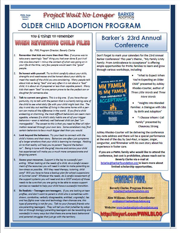 older-child-adoption-newsletter