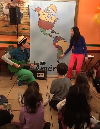 Barker Adoption Hispanic Family party